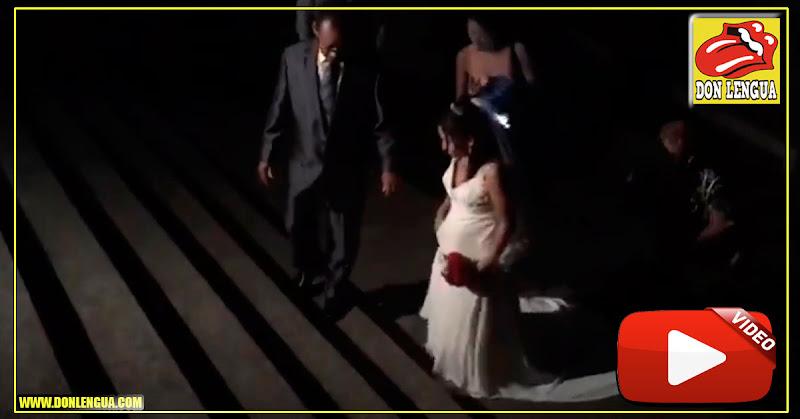 La ridiculez por delante : Pareja se casó a oscuras en San Martín