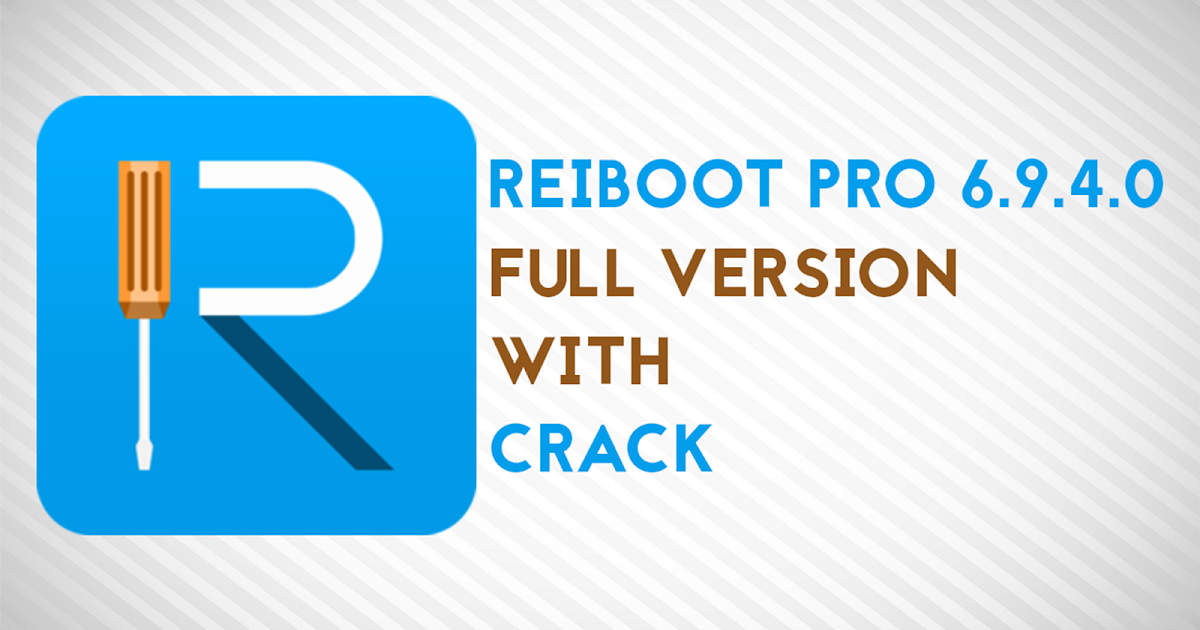 reiboot pro with crack