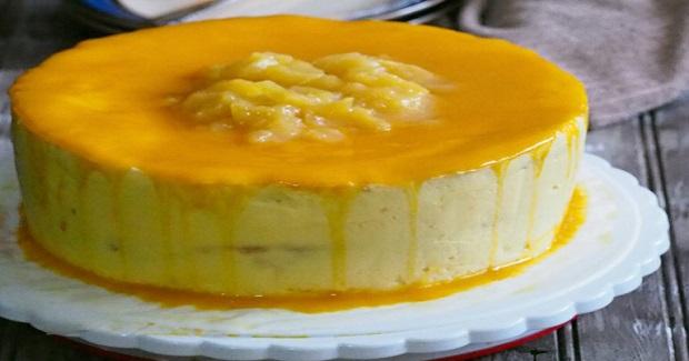 Mango Chiffon Cake With Swiss Meringue Buttercream Recipe