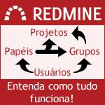 Redmine - Entenda a interação entre Usuários-papéis-grupos-projetos