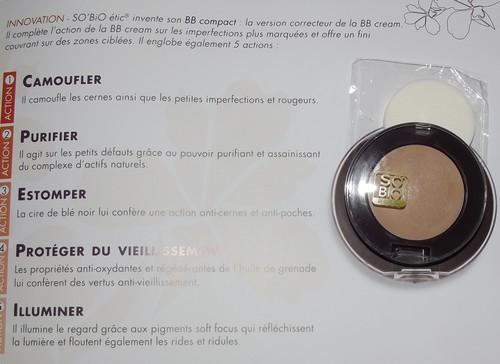 beauty, blog beauté, blemish , BB Cream bio, So'Bio Etic