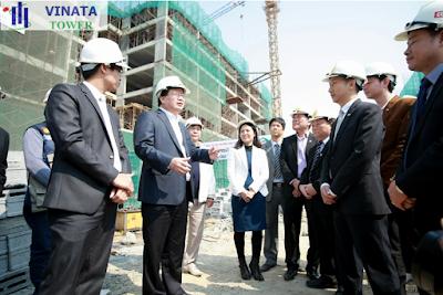 Tiến độ xây dựng dự án chung cư Vinata Tower
