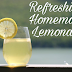 Refreshing Homemade Lemonade