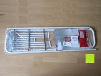 Verpackung: Stabiler Kistenständer Kastenregal Falschenregal Kastenständer (3 Kasten)