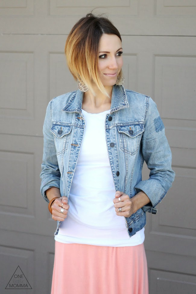 Short angled ombre hair