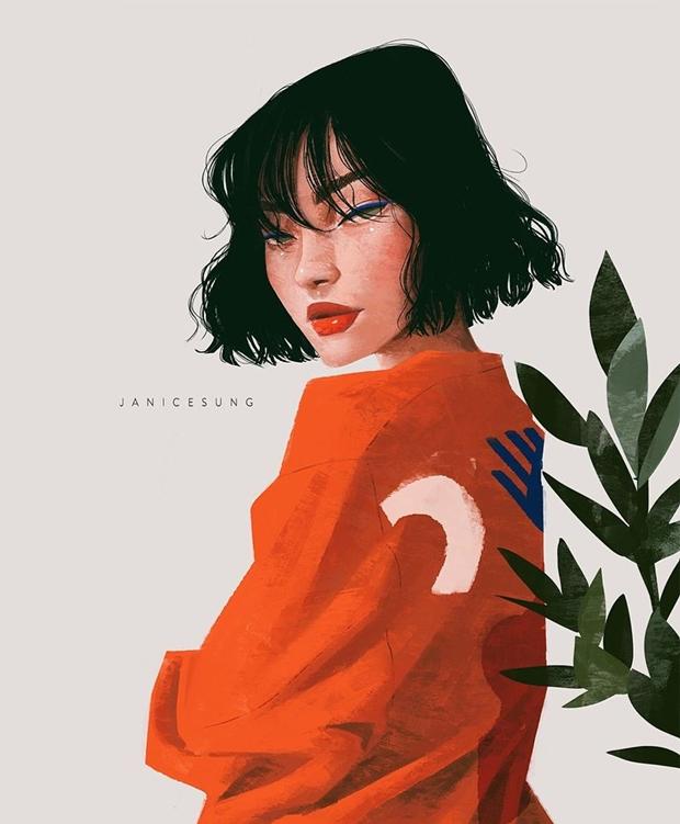 Janice Sung, ilustradora Janice Sung, about Janice Sung, ilustrações retrô, illustration, illustration Janice Sung