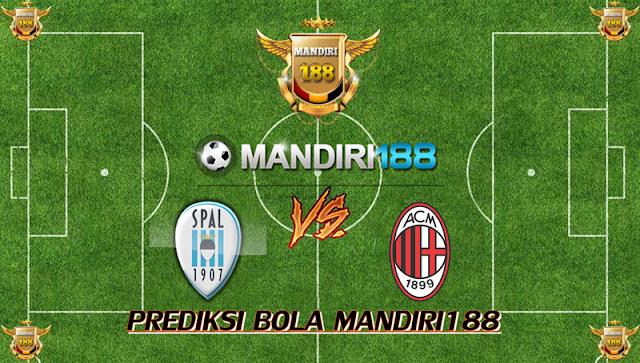 AGEN BOLA - Prediksi S.P.A.L. 2013 vs AC Milan 10 Februari 2018