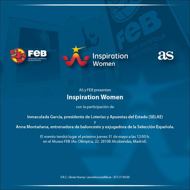 As y FEB organizan el ciclo de conferencias 'Inspiration Women'