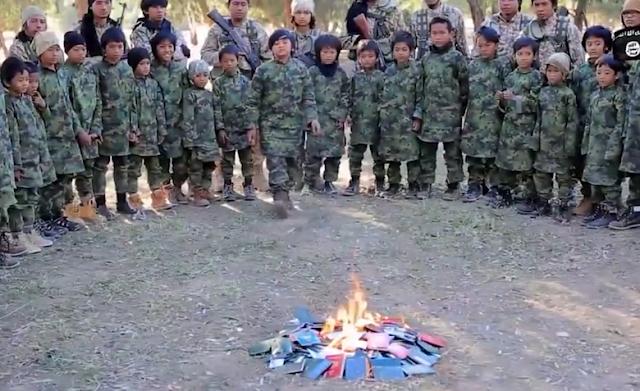 Polri Selidiki Video Anak-anak Indonesia Yang Dilatih ISIS di Suriah