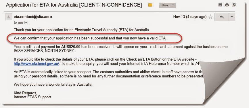 Applying For Eta Online To Travel To Australia The Th Voyager
