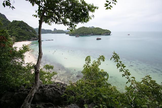 Vista sull'Isola di Wua Talap-Angthong national park
