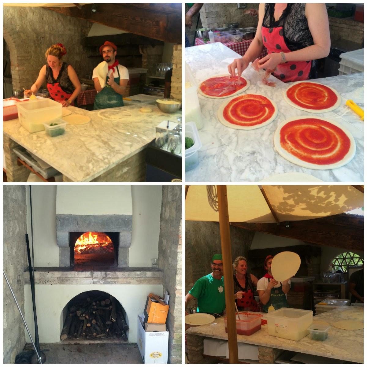 homemade pizza italy