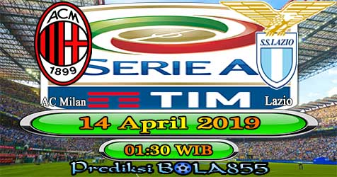 Prediksi Bola855 AC Milan vs Lazio 14 April 2019