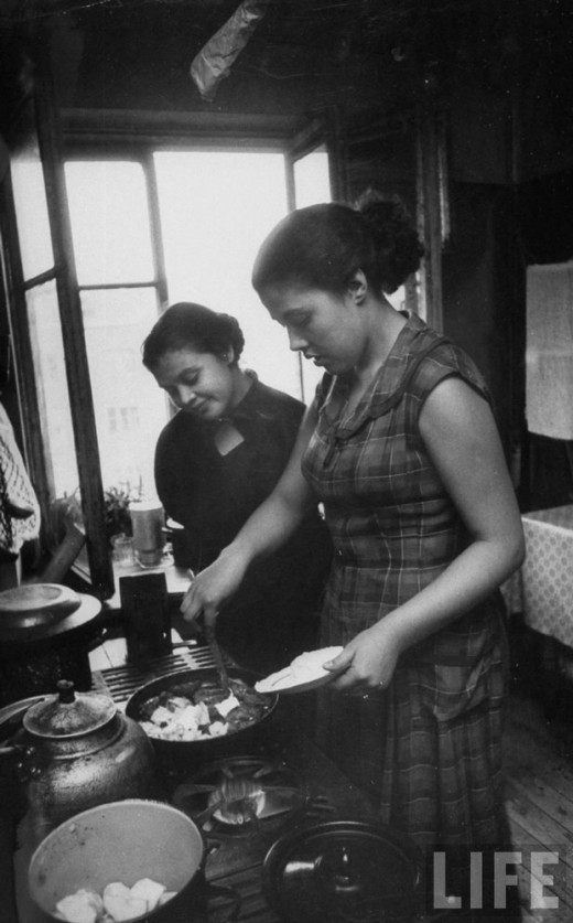 Russian Women Of The 1950s Vintage Everyday