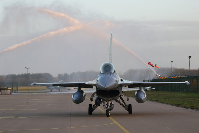 Dutch F-16 back home Jordan