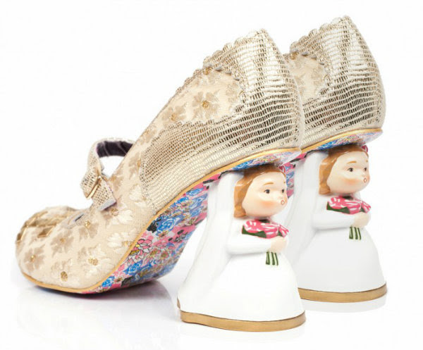 Irregular Choice mrs & mrs bride heels