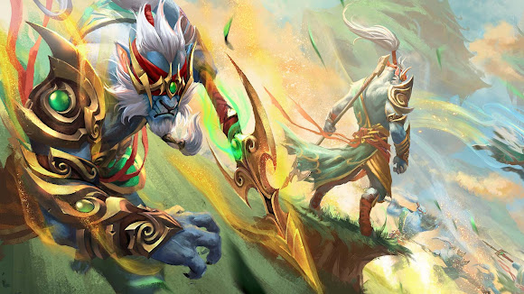Phantom Lancer DOTA 2 Wallpaper, Fondo, Loading Screen