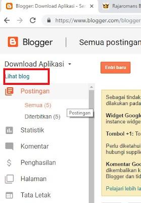 Cara Membuat Blog Gratis | Lengkap 2019