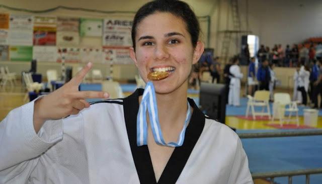 Χρυσό μετάλλιο για την Μαρία Κουκουμέλου της Ένωσης ΤΑΕΚΒΟΝΤΟ Αργολίδας