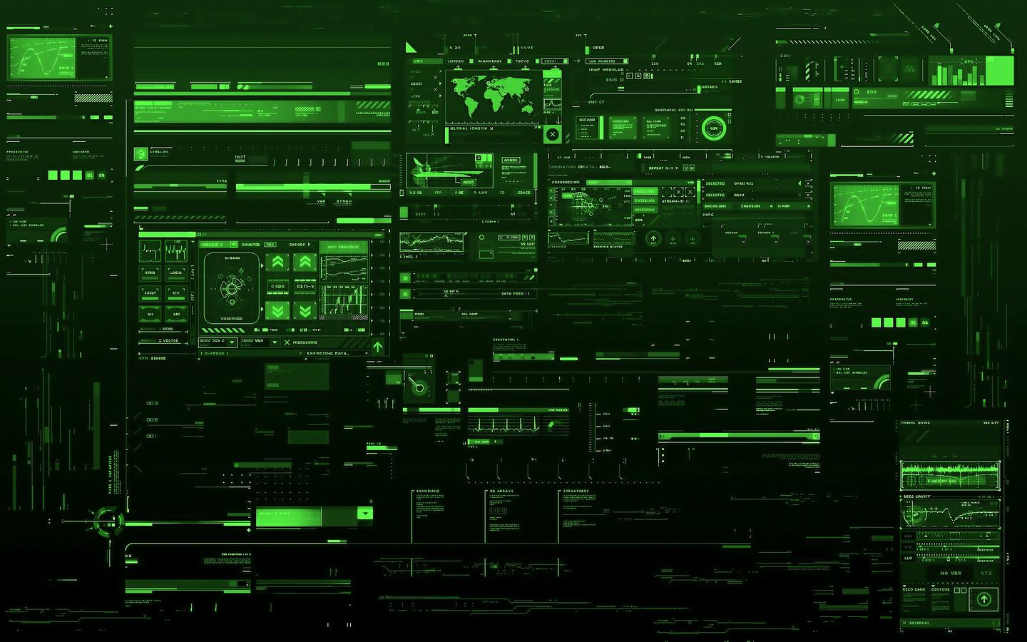 Green Technology Wallpaper: Car And Electronic Wallpaper