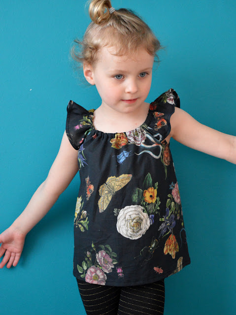 Kid's Flutter Sleeve Top, Dress & Romper