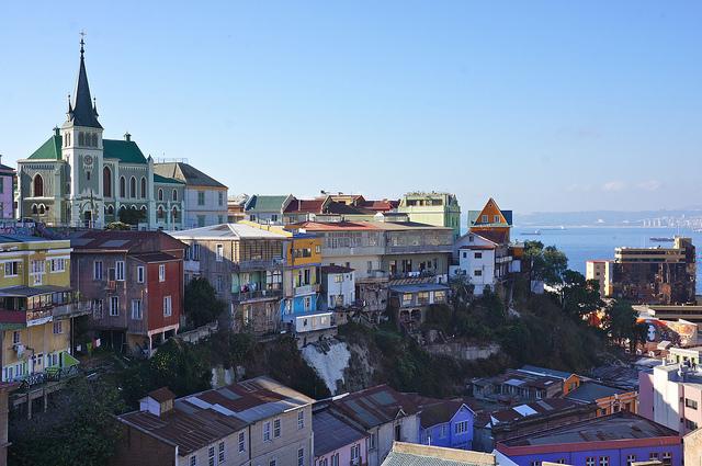 Lua de mel nos cerros em Valparaíso