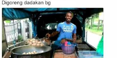 Meme Michael Essien Paling Lucu