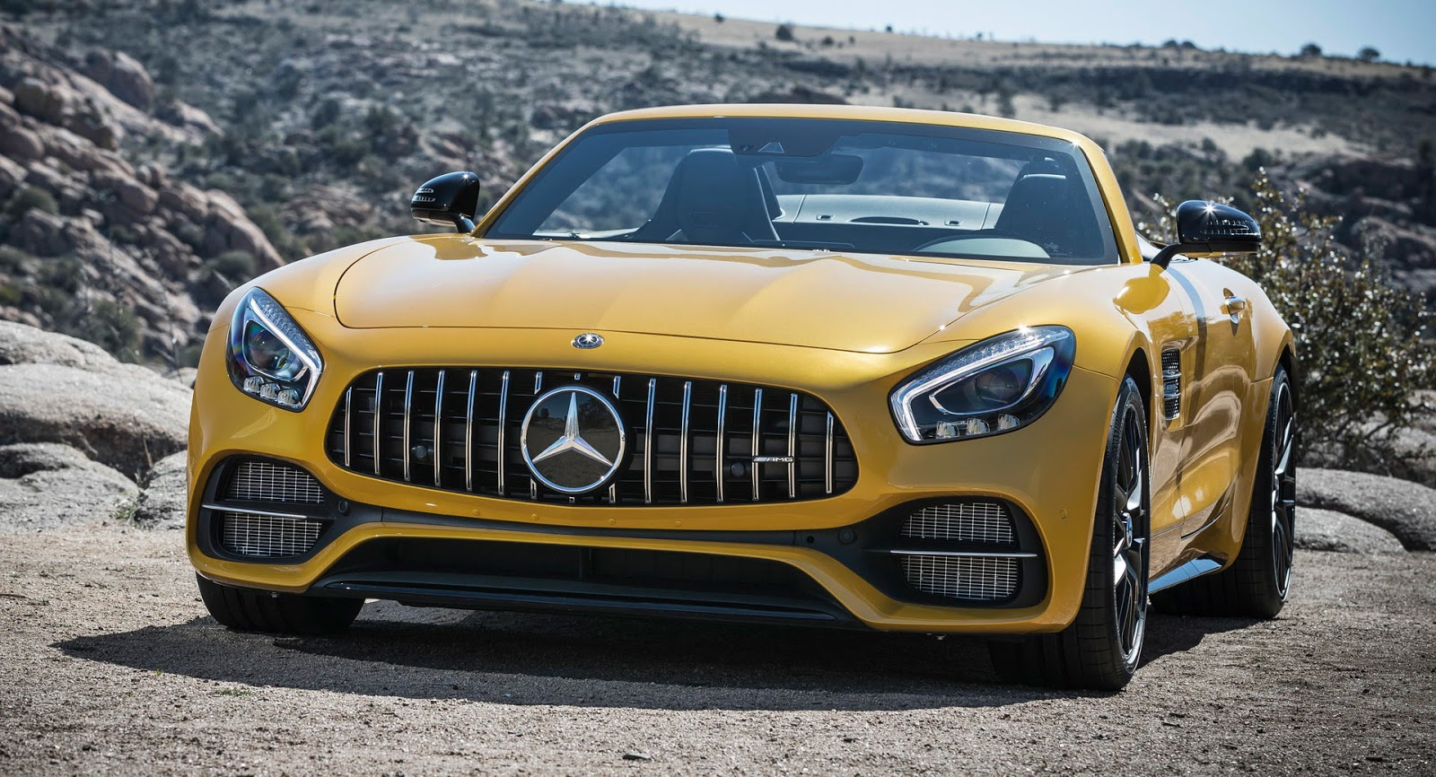 Mercedes Is Planning To Give The AMG GT A Mild Power Boost As Part Of Its  Scheduled Mid Life Facelift. The Facelift Will Introduce Minor Visual  Changes On ...