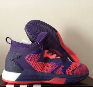 Sepatu Basket Adidas D Lillard 2 Aurora BorealisMerah bru , Basket murah, Sepatu Basket premium