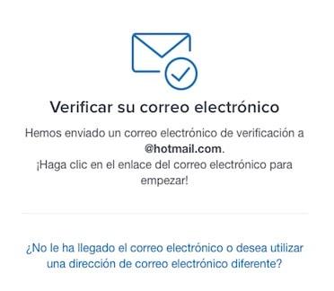 comprar Red Pulse, registro en Coinbase, Validación E-Mail