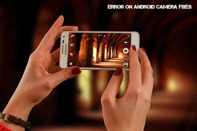 Memperbaiki HP Android kamera rusak