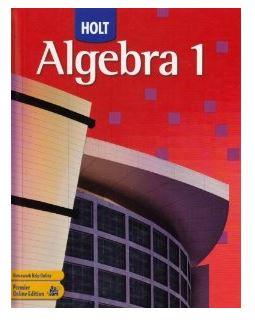 Printables Holt Algebra 1 Worksheet Answers homework help holt algebra 1 1