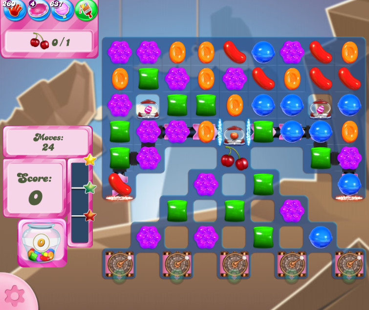 Candy Crush Saga level 2618