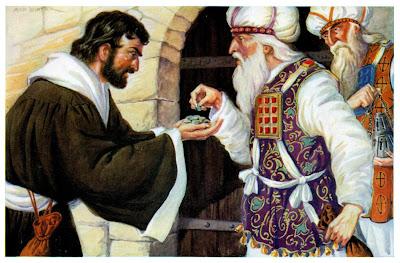 Resultado de imagem para imagem de judas traindo jesus