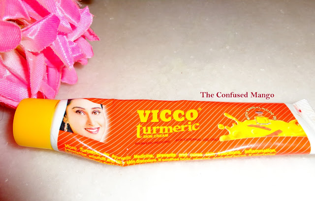 Product Review: Vicco Turmeric Skin Cream