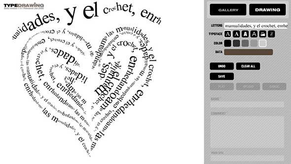 pintar, caligramas, editor online, dibujos, manualidades