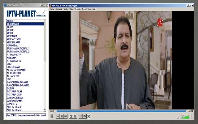 شغل على حاسوبك جميع قنوات nilesat على برنامج vlc بجودة HD.