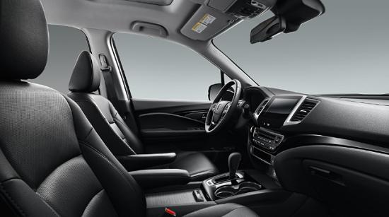 Honda Ridgeline 2019 Black Edition Interior