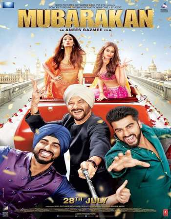 Mubarakan 2017 Full Hindi Movie BRRip Free Download