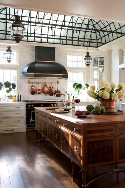 Paula Deen Kitchen Table Affordable Remodel Tg Interiors: The New Country Kitchen...meets Industrial.