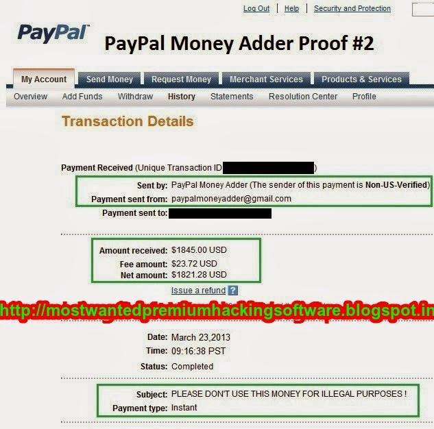 hack paypal accounts make big money For the safety and integrity of the pay pal account we in internet you can see a lot of software for hack paypal account of money 1hack paypal database.