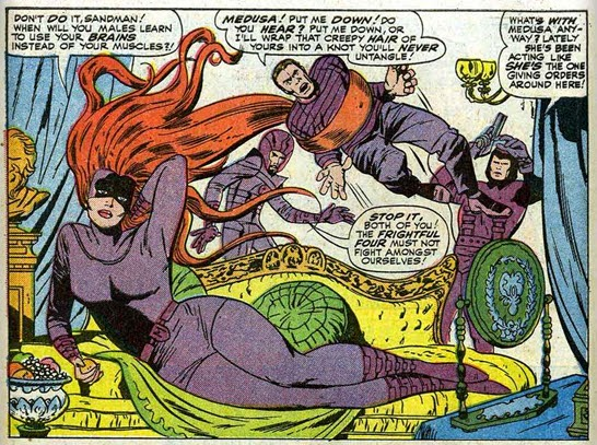 Image result for jack kirby vince colletta fantastic four 41 the inhumans