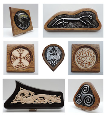 Celtic, Viking & Mythical Wall Plaques by Justbod