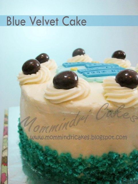 Blue Velvet Cake Jakarta