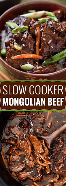 EASY SLOW COOKER MONGOLIAN BEEF RECIPE