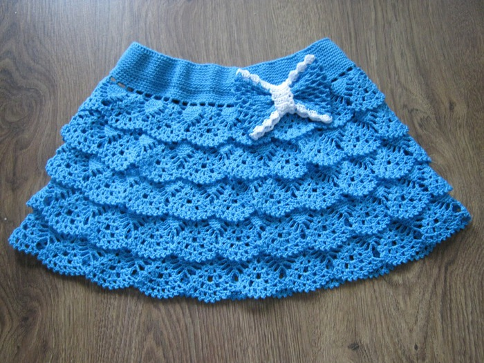 48 Patterns For Crochet Skirt - The Funky Stitch
