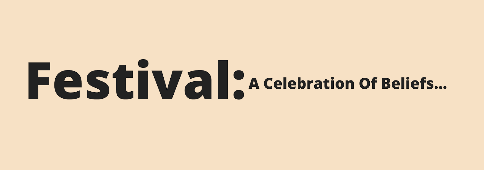 Festival, Muslims, Islam, EduIslam