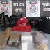 Polícia Civil prende quadrilha com droga avaliada em 100 mil reais