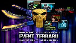 Event PB Garena Terbaru 19 September 2017 Desa Ninja