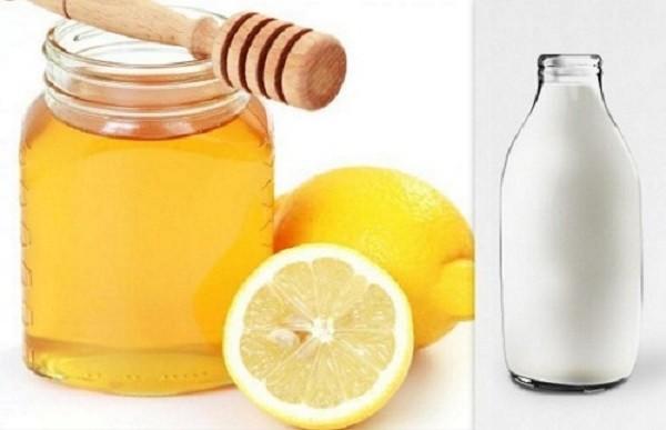 Cách làm trắng da sau 1 đêm bằng chanh tươi, mật ong và sữa chua